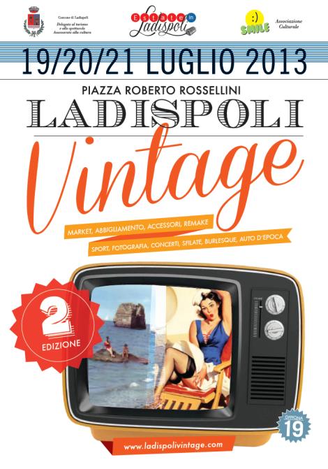 Ladispoli Vintage Manifesto officina19
