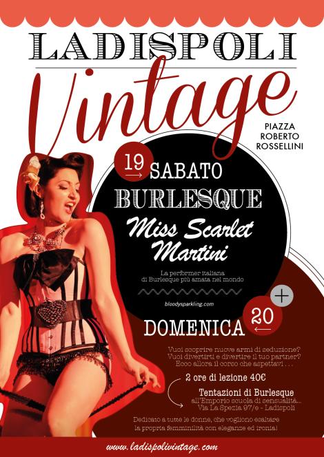 Ladispoli Vintage Burlesque 2014