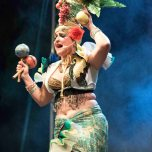 ladispoli vintage officina19 musica ballo rock n roll live piazza rossellini ines boom boom burlesque cabaret_DSC0948